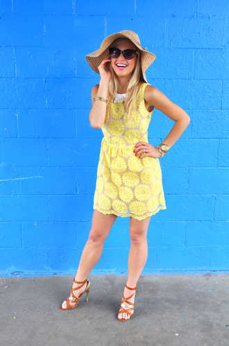 lauren vandiver chic yellow dress yellow summer dress summer outfits blogger simplychic spring dress floral short dress casual dress special occasion dress fashion fashionista blogger fashion