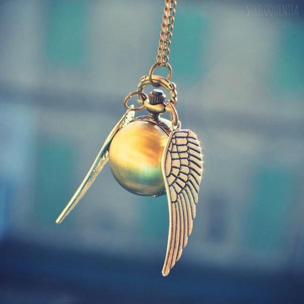 jewels necklace harry potter necklace