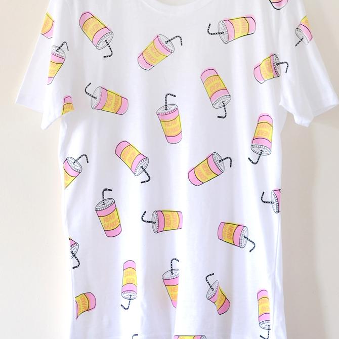 Hero Shakes Milkshake Print T-shirt