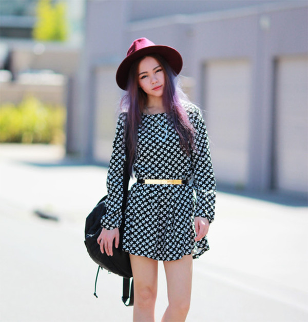 chloe ting dress hat