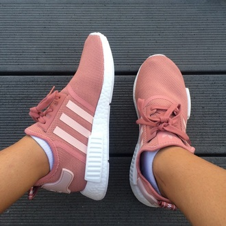 shoes adidas nmd r1 pink adidas nmd nmd pink white sneakers sporty