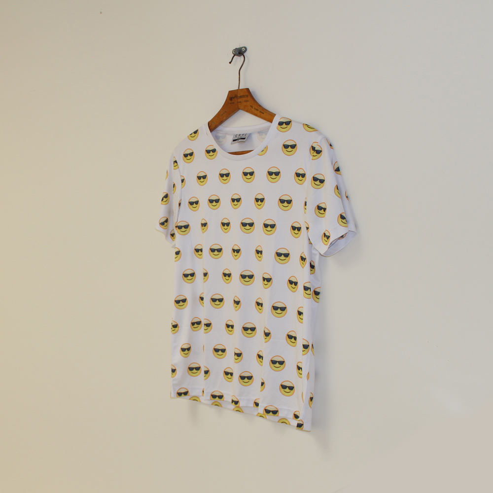 Sunglasses Emoji Tee  / Cool Shirtz