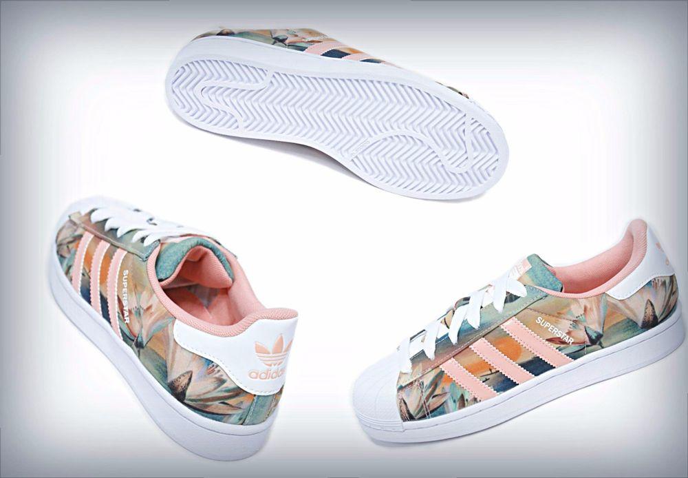 32f4fefdfb74 Adidas Women s Originals Farm Curso d Agua Superstar Shoes B35832