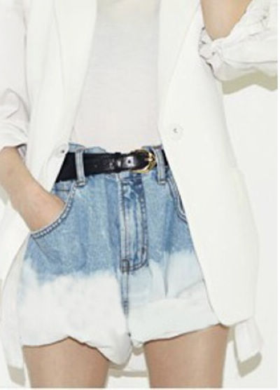 Korean Style New Arrival Endearing High-Waist Line Short Pants_Short & Hot Pants_Pants_Women's Clothes_Wholesale clothing from China fashion online shop. Cheap Korean fashion clothes, high heels shoes, T shirts, dresses and clothing on sale.