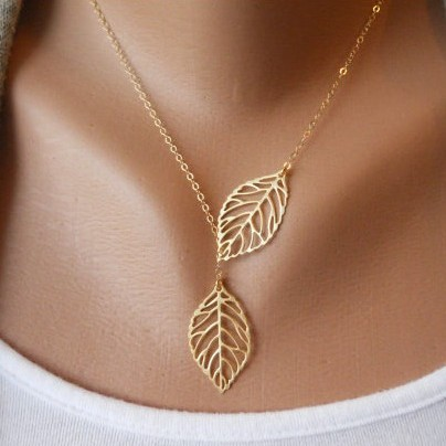 Hot Sell Fashion Vintage Big Leaf Pendant Necklace Clavicle Chain Free Shipping-in Chain Necklaces from Jewelry on Aliexpress.com