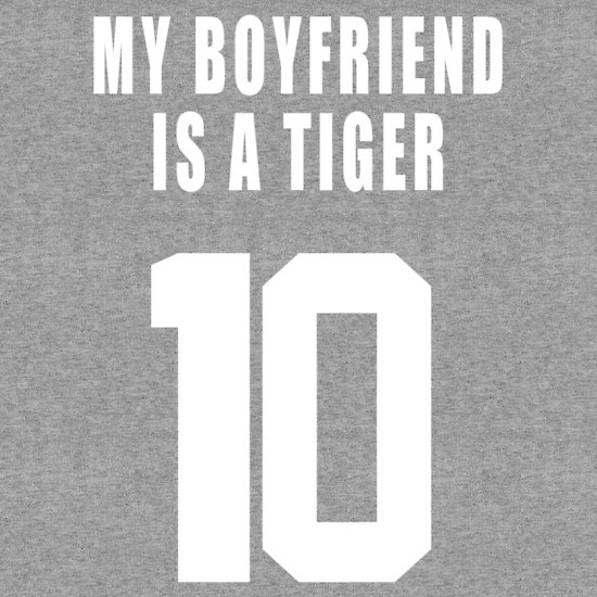 """MY BOYFRIEND IS A  TIGER"" T-Shirts & Hoodies by Arno Van Den Bossche 