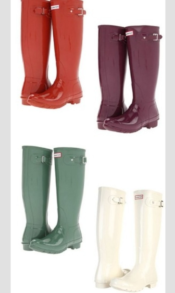 shoes boots rubber rain wellies hunter boots