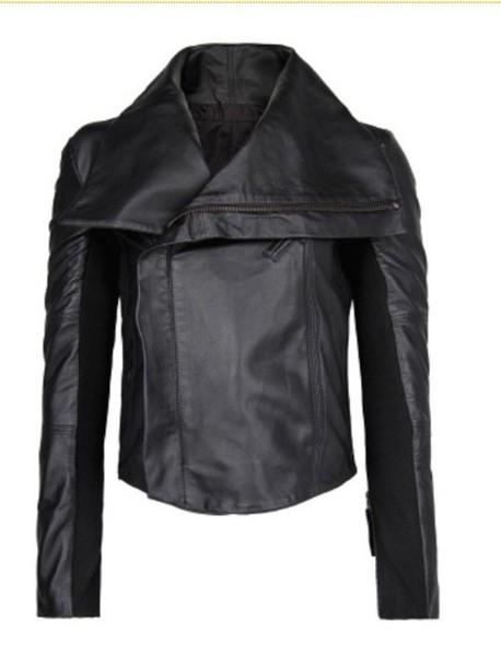 jacket leather jacket black