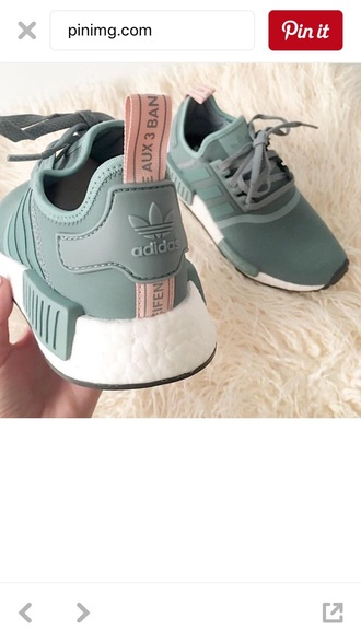 shoes adidas olive green pink green adidas shoes adida nmd r-1 sneakers
