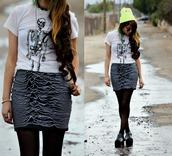 galore beneath the stars,hat,shirt,skirt