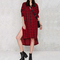 Aliexpress.com : buy 2016 autumn good quality long sleeve asymmetric long t shirt dress red and black plaid dresses women clothing from reliable dresses girl suppliers on surefavor store