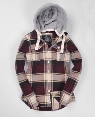 coat red plaid jacket shirt plaid