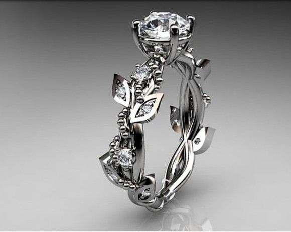 jewels ring engagement ring rose