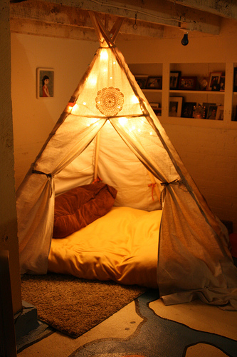 10 of the Most Creative DIY Tents and Teepees & of the Most Creative DIY Tents and Teepees