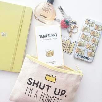 jewels yeah bunny keychain crown queen cute tumblr