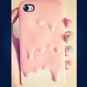 jewels,iphone case,iphone cover,cute,iphone 4 case,pretty,pink,phone cover