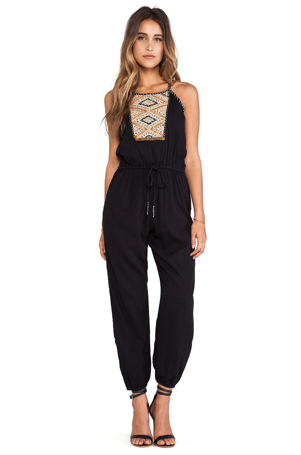 Greylin Anya Jumpsuit in Black from REVOLVEclothing.com