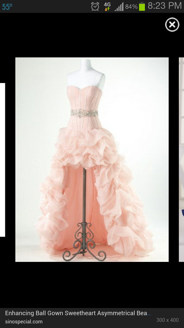 dress asymmetric prom dresses layered dress ruffle any colour pink dress sleeveless dress