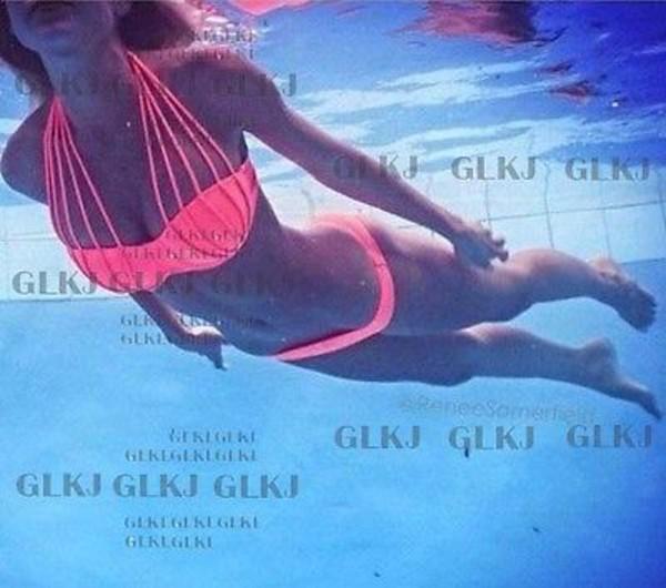 swimwear sexy bikini coral bikini