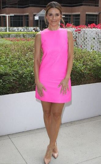 dress pink pink dress pumps summer dress