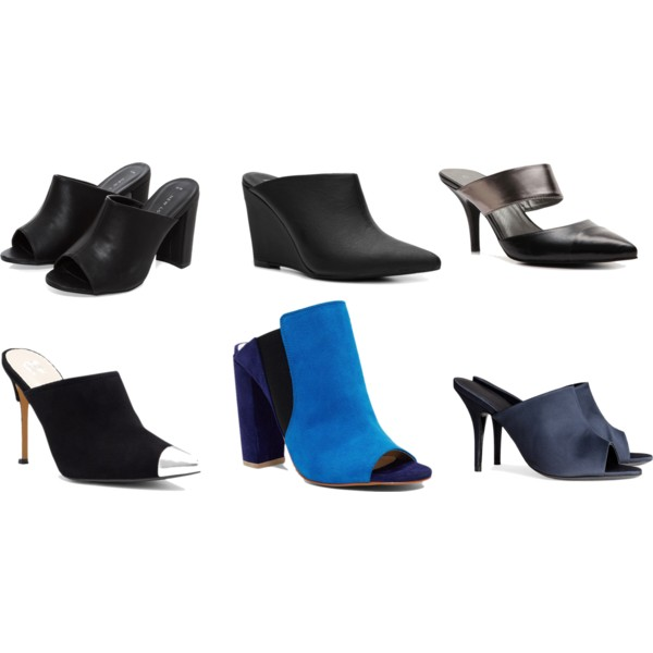 Steal: Mules for under $50 - Polyvore