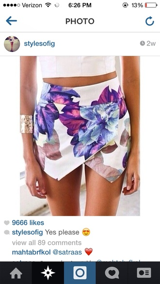 floral floral shorts shorts high waisted leather black shorts high waisted ying yang tie dye floral