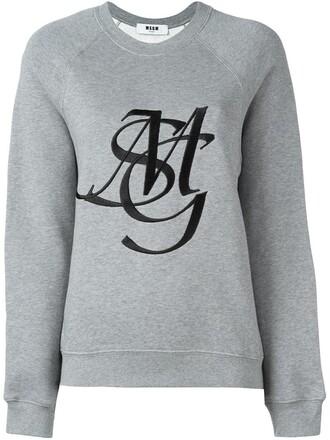 sweatshirt print sweater