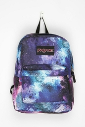 bag,galaxy print,blue and pink galaxy print tumblr sweatshirt,backpack