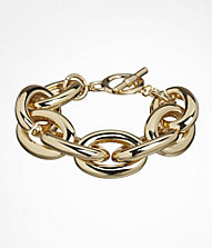 LARGE STATUS LINK TOGGLE BRACELET | Express