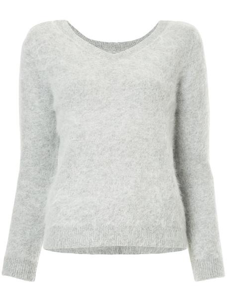 Loveless jumper women grey sweater