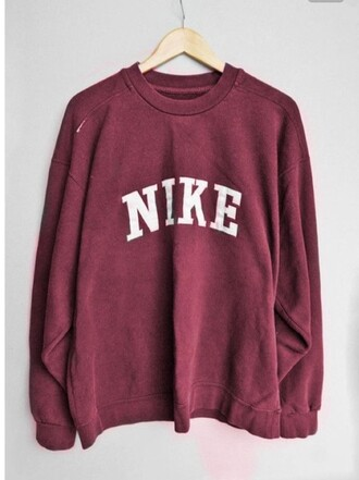nike jumper mens pink