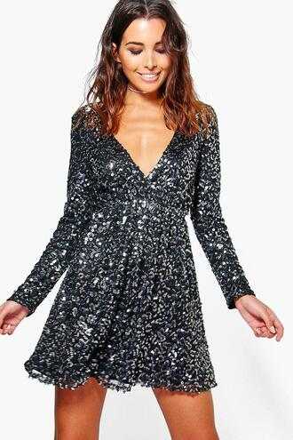 dress glitter glitter dress sequin dress sequins skater dress
