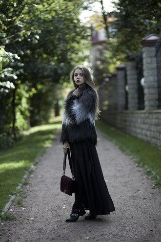 acid coke blogger dress jacket