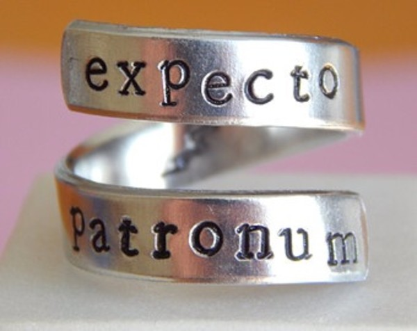 jewels expecto patronum harry potter hogwarts ring