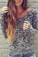 Sirenlondon — stormy lovers sweater