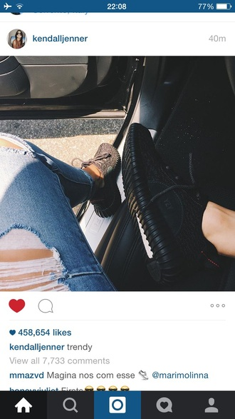 jeans kendall jenner skinny jeans denim ripped jeans