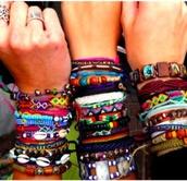jewels,ibiza,colorful,beach,summer,sun,pretty,bracelets