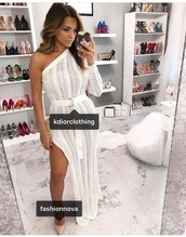 dress,summer dress,white outfits,lace,maxi,maxi dress,long dress,floor length dress,special occasion dress,white,white dress,slit,slanelle,summer,white lace dress,boho,boho dress,crochet,crochet dress,white long dress,wedding dress,homecoming,white lace