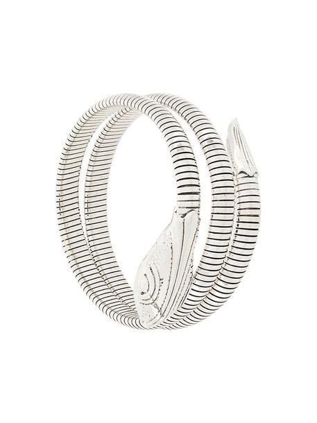 Gas Bijoux women silver grey metallic jewels
