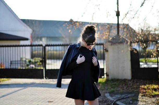 jestem kasia dress jacket sunglasses shoes