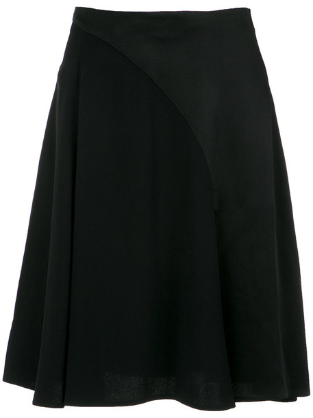 VERSACE skirt women black