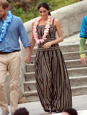dress,meghan markle,maxi dress,summer dress,stripes