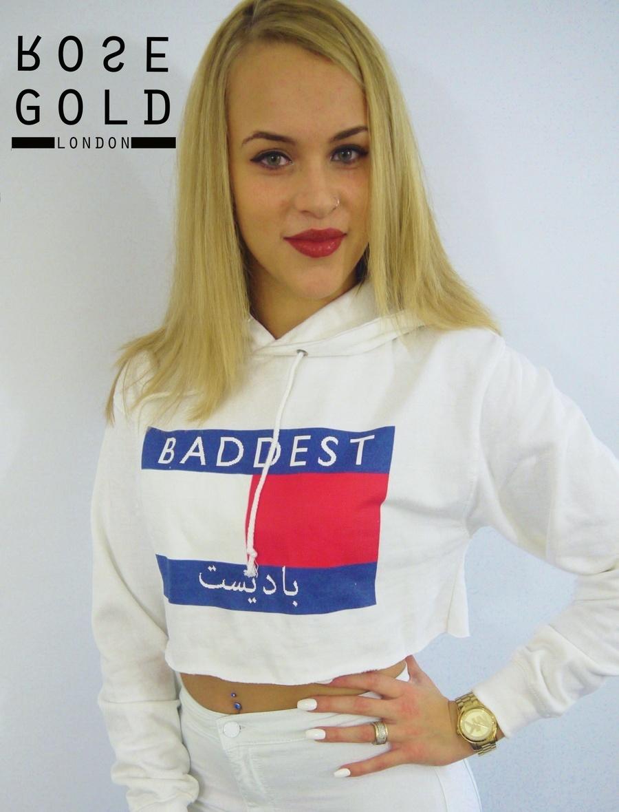Rose gold london — baddest jumper