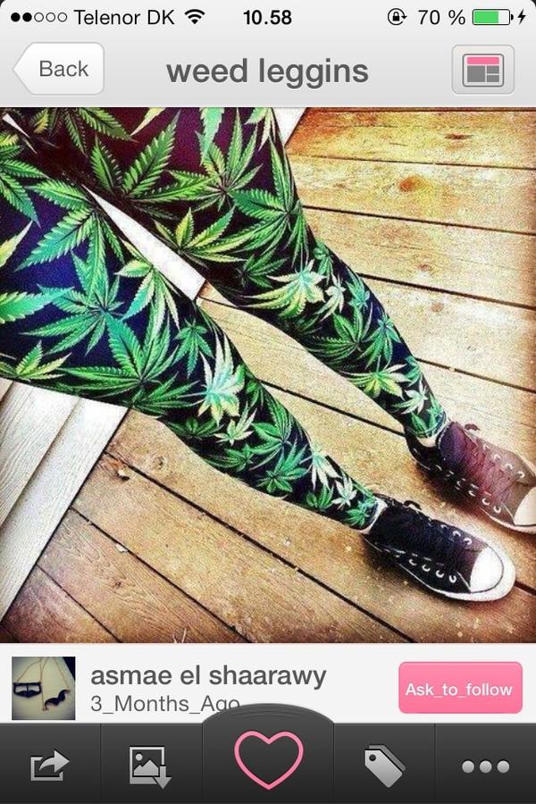 jeans weed weed leggins green high marihuana weed pants ebonylace.storenvy ebonylace-streetfashion