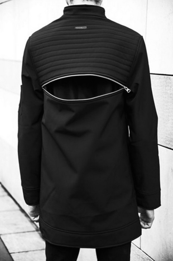 top street goth blvck dark avant garde fashion blvck