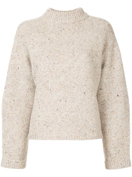 H Beauty & Youth jumper women nude wool sweater