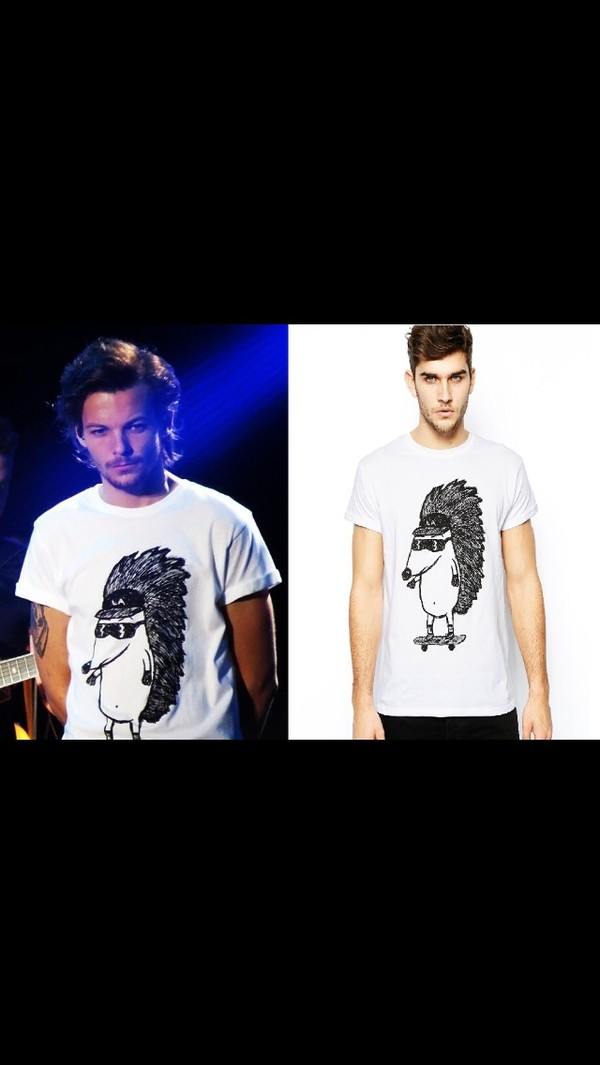 t-shirt louis tomlinson one direction
