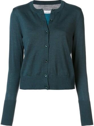 cardigan classic blue sweater