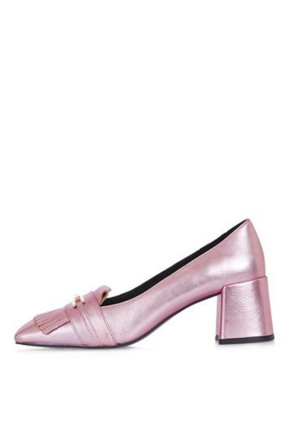 Topshop loafers pink shoes