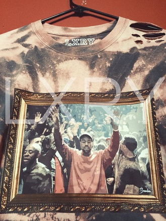 shirt kanye west yeezy merch the life of pablo merch tlop the life of pablo yeezy season yeezy